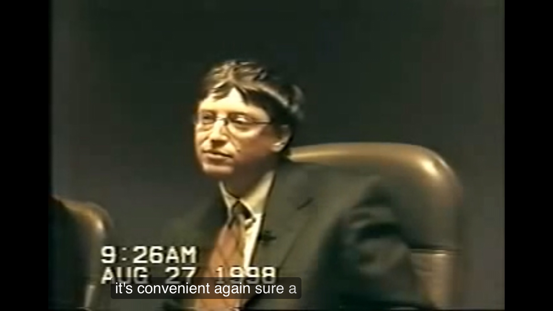 "bill ""I'm smarter than everyone"" gates"
