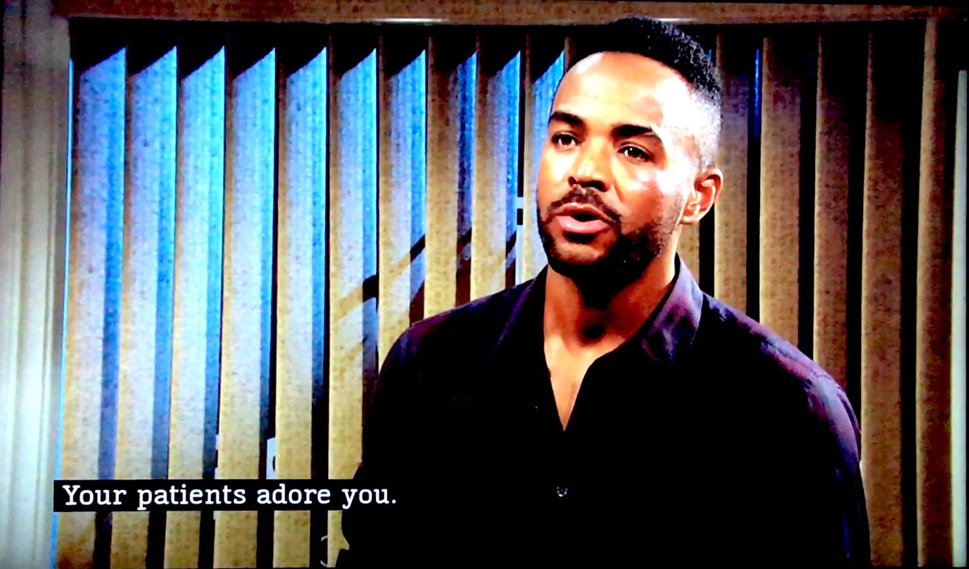 Sean Dominic as Nate Hstings, great African-american actor